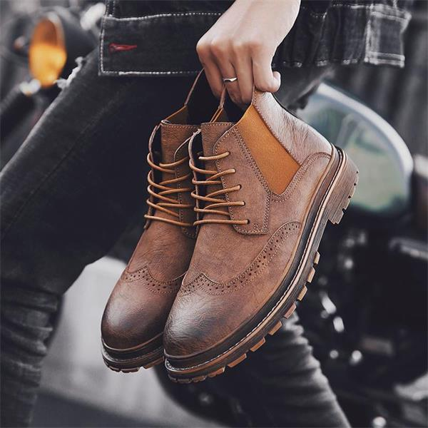 Casual British Korean Brock Martin Boots