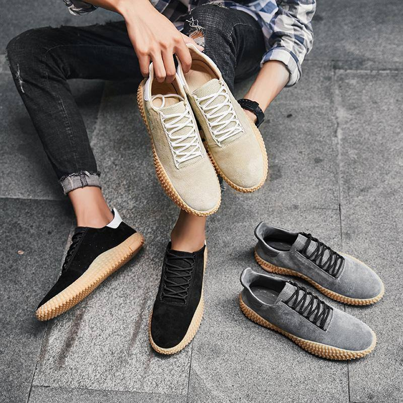 DASH SUEDE SNEAKERS