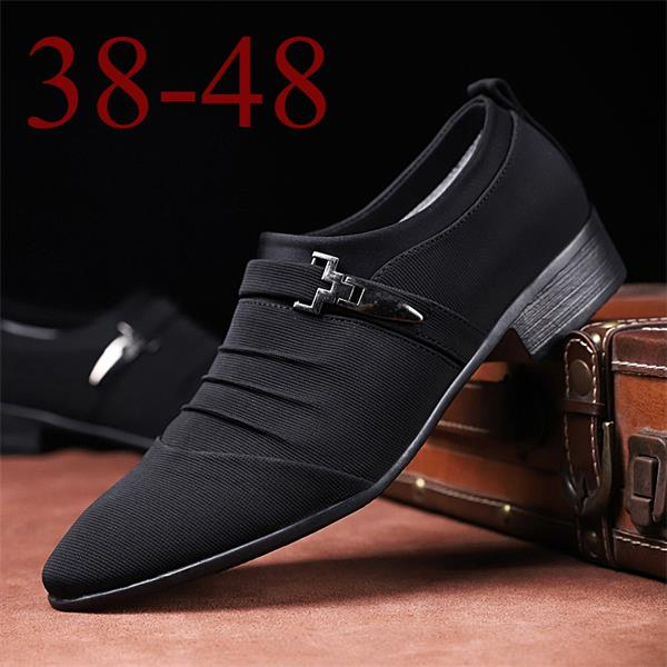Men's large size casual breathable shoes