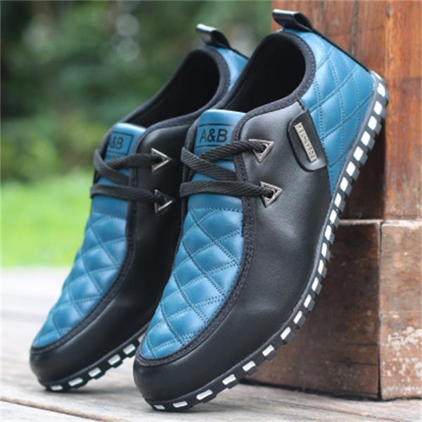 Casual Lace Up Breathable Shoes