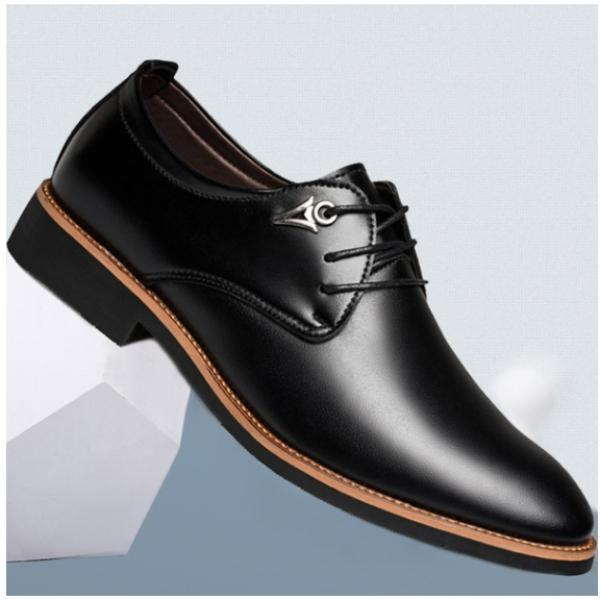 Men's Flat Business Oxfords Pointed Toe  Shoes