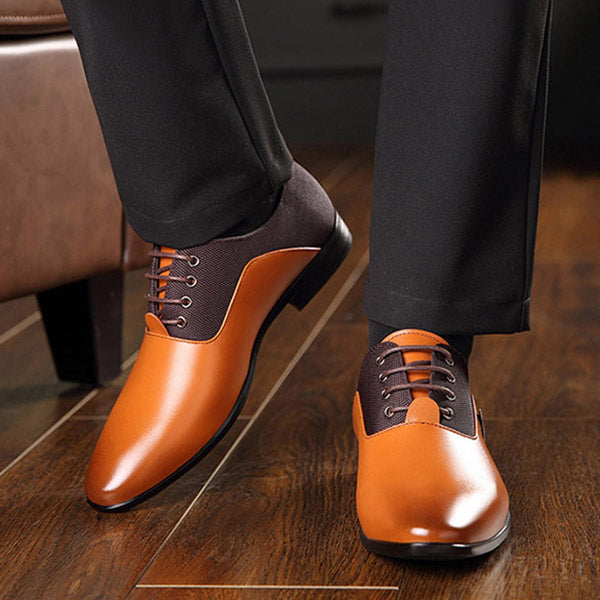 Men Dress Shoes Men Formal Shoes Leather Luxury Wedding Shoes Men Business Casual Oxford Shoes