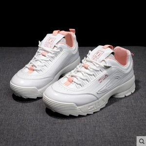 New ladies platform breathable wave running shoes