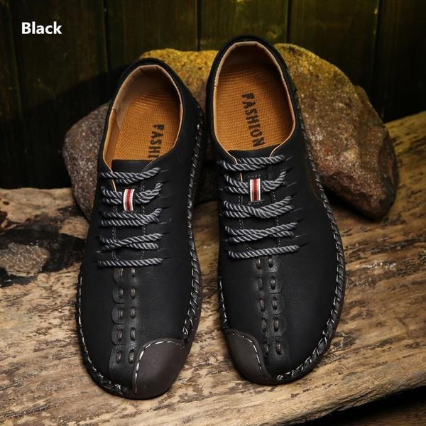 Gentleman Classical British Retro Casual Leather Shoes