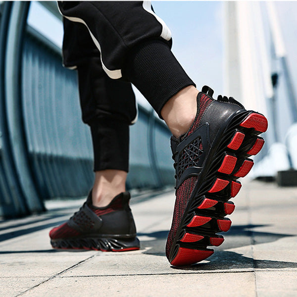 Spring Autumn Sports Breathable Mesh Outdoor Men's Running Shoes