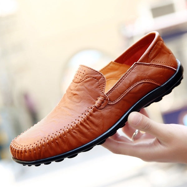 Men Genuine Leather Loafers Shoes