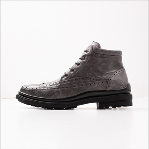 Men's Casual Carved Brock men's high-cut cotton boots