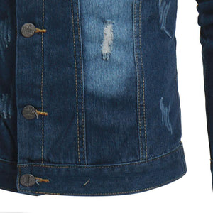 Denim Jacket Casual Retro Denim Jacket