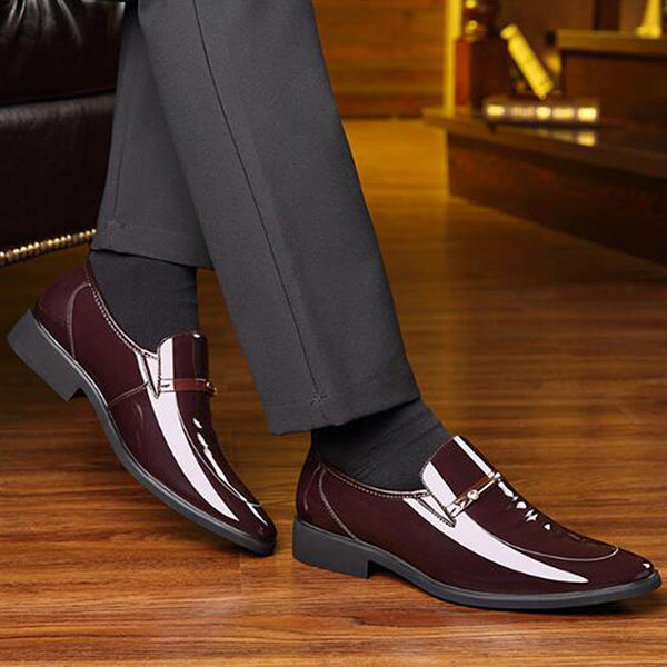 High Quality Men Oxford Men Leather Dress Shoes Fashion Business Men Shoes Men Dress Pointed Shoes