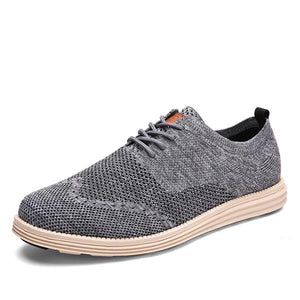 New sports and leisure flying woven running shoes