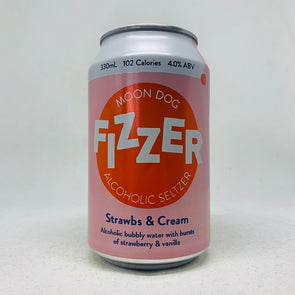 Moon Dog Fizzer Strawbs & Cream