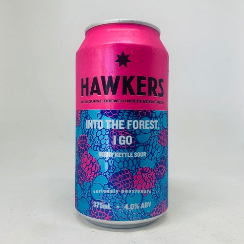 Hawkers Into The Forest, I Go Berry Kettle Sour