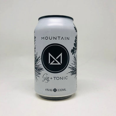 Mountain Gin and Tonic