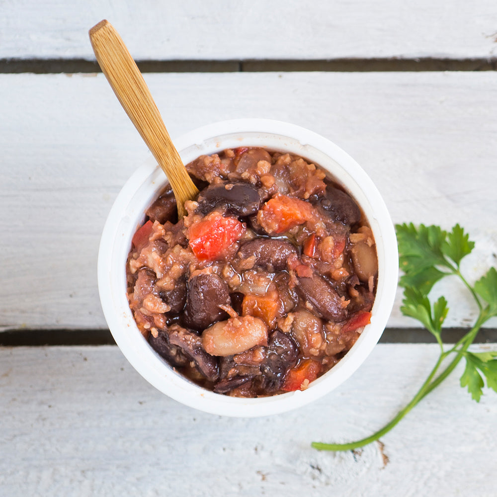 Wholly Goodness Wholesome Veggie Chili Sin Carne Instant Meal