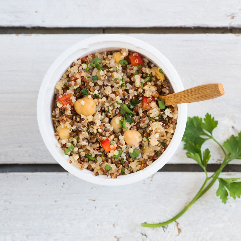 Wholly Goodness Hearty Quinoa & Chickpeas Instant Meal