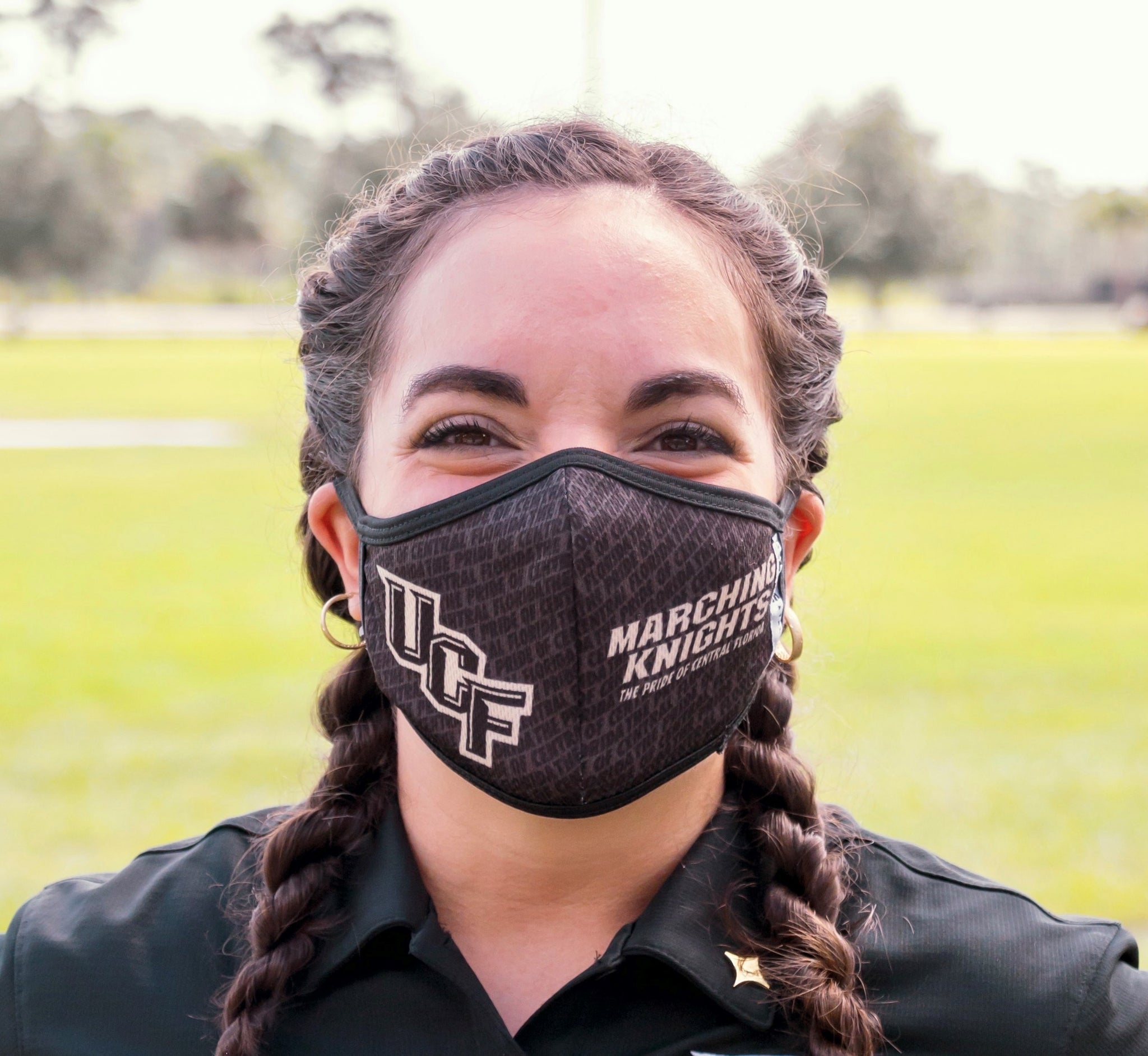 Marching Knights Cloth Face Mask