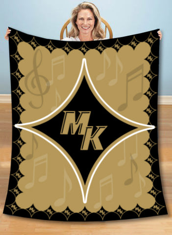MK Knights Plush Blanket