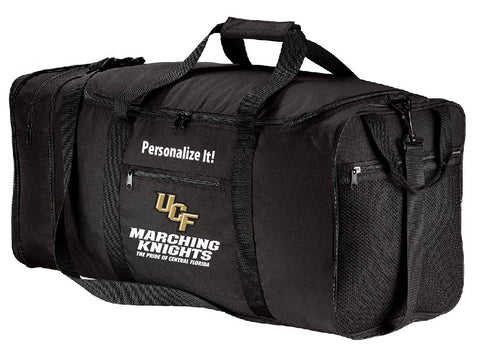 Black Duffel Bag (*PERSONALIZED*)