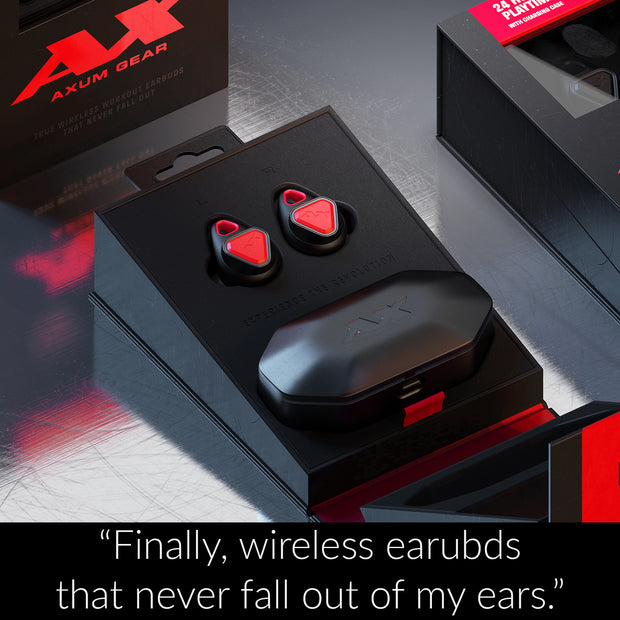 """These earbuds will be your best friend at the gym or on a run"" - Mashable.com"