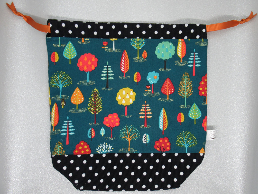 Autumn Trees Project Bag