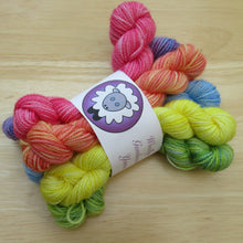 Load image into Gallery viewer, Rainbow Mini Skeins set of six