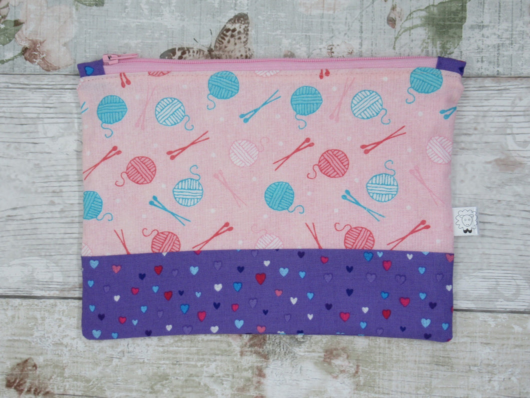 Yarn Balls Notions Pouch