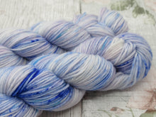 Load image into Gallery viewer, Silver Sparkle 4ply 50g in Enchanted colourway