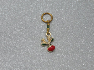 Rudolph Stitch Marker / Progress Keeper