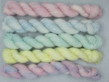 Load image into Gallery viewer, Merino and Nylon 20g Mini skeins in Winter colours