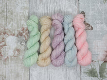 Load image into Gallery viewer, Merino Bamboo 10g Mini Skein Set in Pastel Colours