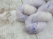 Load image into Gallery viewer, Merino Bamboo Lace 50g in Parma Violets Colourway