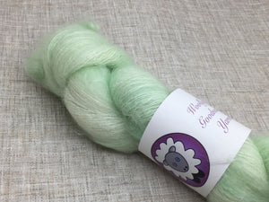 Kid Mohair and Silk 50g in Spring Green Colourway
