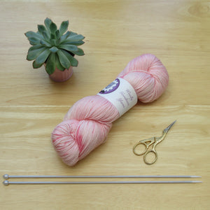 Merino Silk 100g 4ply in Azalea colourway