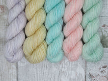 Load image into Gallery viewer, Merino Bamboo 20g Mini Skein Set in Pastel Colours