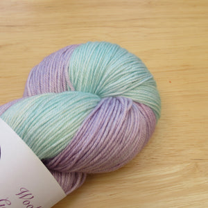 Merino Silk 4ply 100g in Magical colourway