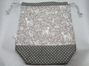 Silver Animals Project Bag