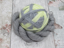 Load image into Gallery viewer, Self Striping Yarn in Grey and Yellow