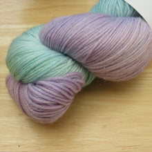 Load image into Gallery viewer, Silver Sparkle 4ply 100g in Magical colourway