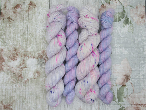 Merino Bamboo 4ply 50g + 20g mini in Sugarplum colourway