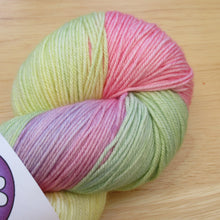 Load image into Gallery viewer, Merino Silk 4ply 100g in Rainbow colourway