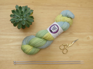 Baby Alpaca DK 100g in Summer's Day colourway