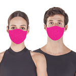 Pink Fluo - Face Mask