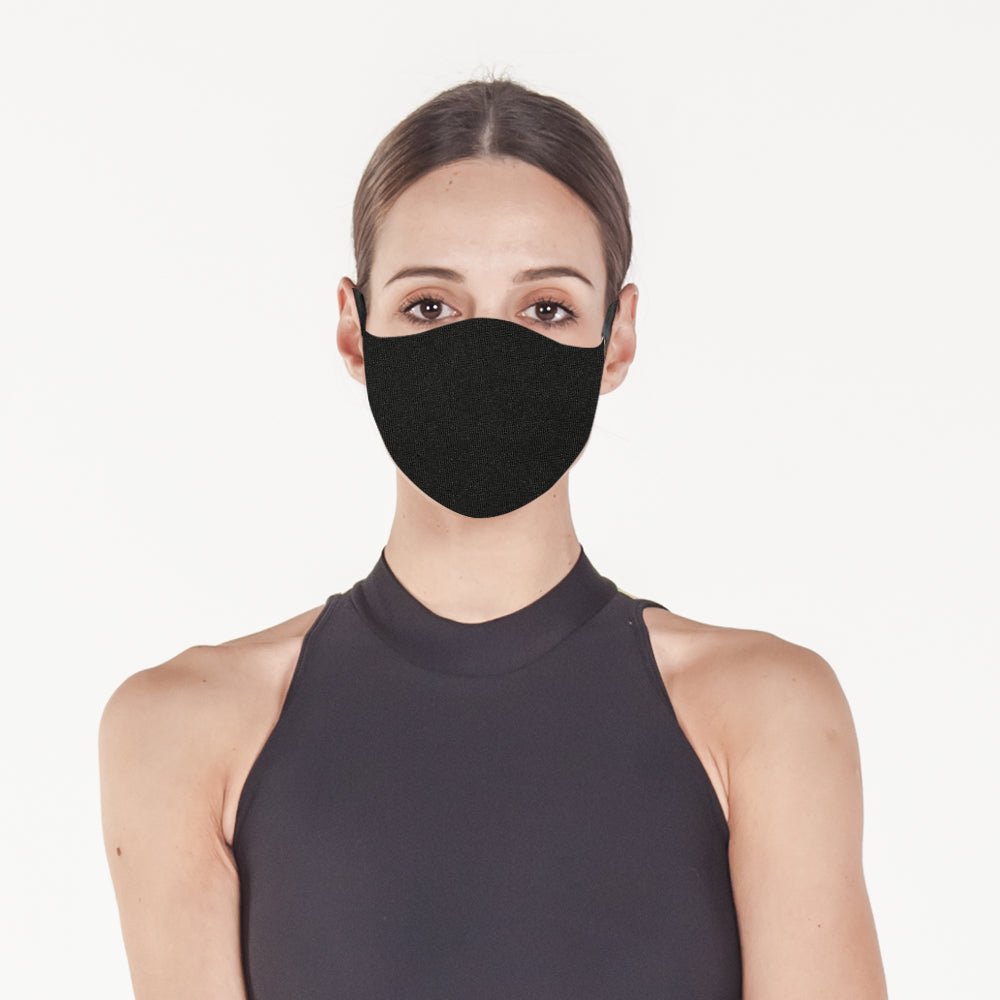Black - Face Mask
