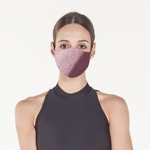Silver Pink - Face Mask