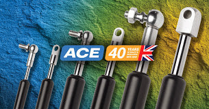 ACE Industrial shock absorbers, gas springs and vibration technology.