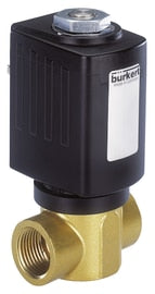Burkert Direct Acting Solenoid Valve - Normally Closed - Parker Hydraulics & Pneumatics