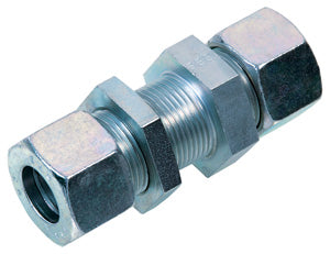 Straight Bulkhead Connector - Heavy Series - Parker Hydraulics & Pneumatics