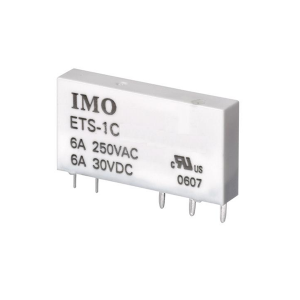 IMO 1 Pole SRSI Series Relay 6A (see SRSI series for suitable Relay Bases) - Parker Hydraulics & Pneumatics