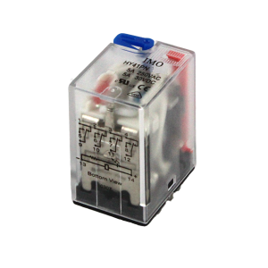 IMO 4 Pole HY Series Relay 5A (see SRN4E for Relay Base) - Parker Hydraulics & Pneumatics