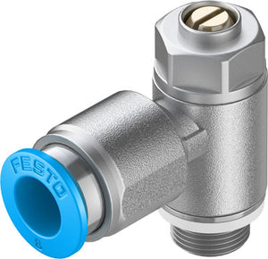 Festo One Way Flow Control Valve - Meter Out - Parker Hydraulics & Pneumatics